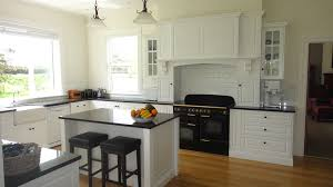 Designer White Kitchens Kitchen European Design White Kitchen Is Equipped With Desks And