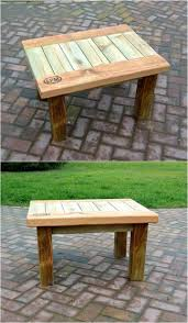 Patio Furniture Made Of Pallets - 60 best pallet end tables images on pinterest side tables