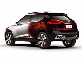 new nissan concept nissan kicks samba concept rear quarter indian autos blog