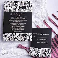 Cheap Wedding Invitations Online Black Wedding Invitations Classic Black And White Wedding Invites