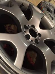 how i refinished my wheels 986 forum for porsche boxster