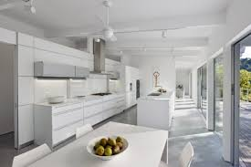Track Lighting For Kitchen Ceiling Kitchen Design Modern White California Kitchen Design With Track