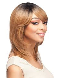 what is the difference between layering and tapering showing off a mix of short and long layers side swept bangs and