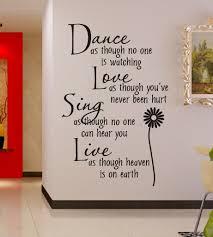 Bedroom Wall Art Words Wall Word Art Stickers Shenra Com