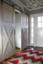 Exterior Doors Salt Lake City Industrial Barn Door Hardware And Barn Doors Traditional Entry
