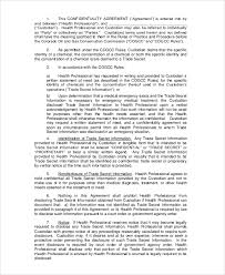 sample confidentiality agreement form 8 documents in pdf word