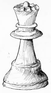 chess pieces sketch drawing chess pieces sketch drawing and chess