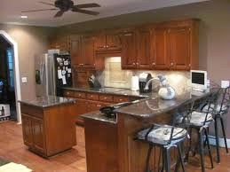 cost kitchen island charlotte kitchen remodeling with bar and island sink with raised