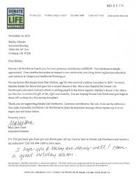 Charity Donation Thank You Letter Samples community charity projects interstate roofing pnw