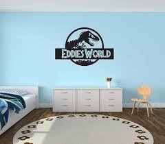 jurassic world wall decal custom jurassic world wall sticker