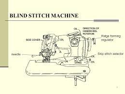 Machine Blind Stitch Blind Stitch Machine Ppt Video Online Download