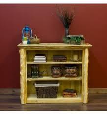 rustic cedar log bookcases and cedar log bookshelves