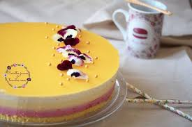 cuisine bavaroise recette de bavarois framboise mangue vanille et fruit de la