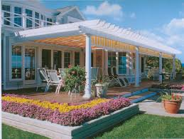 exteriors pergola ideas for patio with patio furniture set and