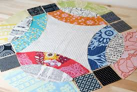Wedding Ring Quilt by The Nyc Mqg Double Wedding Ring Quilt Challenge Fresh Lemons