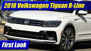volkswagen tiguan 2016 r line first look 2018 volkswagen tiguan r line testdriven tv