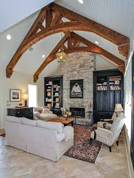 vaulted ceiling beams celebrity homes sheryl crow s secluded compound in los angeles