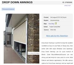 Drop Down Awnings 7 Awning Options For Functional Outdoor Living Spaces Junk Mail Blog