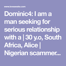 Seeking For Serious Relationship Dominic4 I Am A Seeking For Serious Relationship With A 30