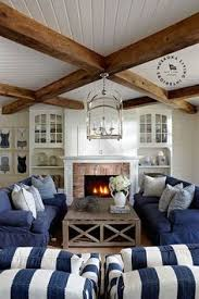 beach house decorating nautical beach home interiors navy blue