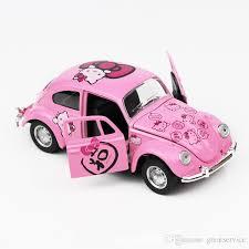 kitty car beetle car warrior cute alloy kt cat toy vehicle