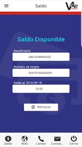 consulta de saldo visa vale social vale panamá android apps on google play