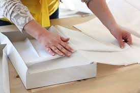 how to use tissue paper in a gift box how to wrap gifts like a japanese department store