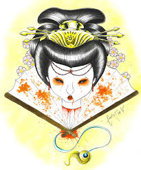 cool zone japanese geisha designs gallery