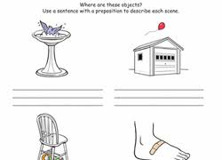 preposition worksheets u0026 free printables education com