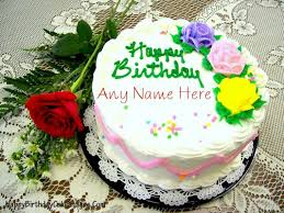 honey birthday cake with name editor happy birthday cake images