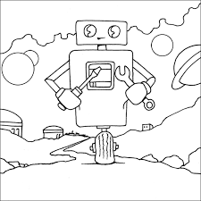 fix robot colouring