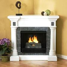 Amish Electric Fireplace Amish Electric Fireplace Corner Unit White Heater Media Console