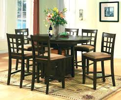 oval pub table set set of 6 bar stools pedestal pub table set oval counter height