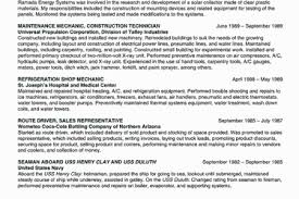 Maintenance Technician Resume Examples by Hospital Maintenance Worker Resume Reentrycorps