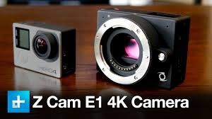 the z cam e1 is a small video camera that packs a micro four