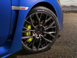 subaru rims 2018 subaru wrx sti 19 inch wheel design photos first photos