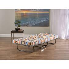 Foldable Twin Bed Innerspace Luxury Products Torino Twin Metal Bed Frame Fb Standard