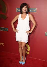 Red Carpet Entertainment Cheryl Burke At Qvc 5th Annual Red Carpet Style Event In Beverly