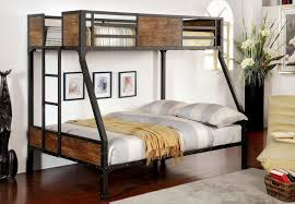 Bunk Beds Black Furniture Of America Cm Bk029tf Clapton Transitional Black