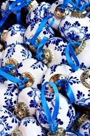 detail of traditional christmas decorations in holland stock photo
