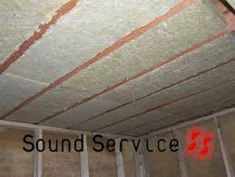 Sound Proof Basement Ceiling by Soundproof Garage Soundproofing Shed