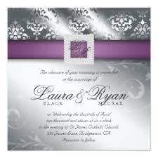 wedding invitations canada wedding invitations canada wedding damask purple