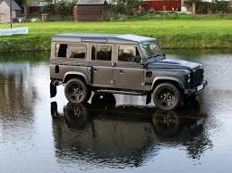 land rover defender 2016 khan used 2014 land rover defender 110 xs by kahn design for sale in