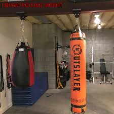 Speed Bag Wall Mount Here U0027s The Best Way To Hang A Heavy Bag From A Steel I Beam The