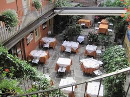 il cortile cannero restaurant im innenhof hotel il cortile cannero riviera