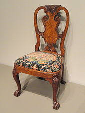 Queen Anne Armchair Queen Anne Style Furniture Wikipedia