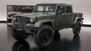 jeep hellcat truck jeep s wrangler hellcat and six other sweet concepts for moab autoblog