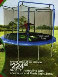 black friday trampoline black friday deal 12ft light up trampoline tr 126com glz