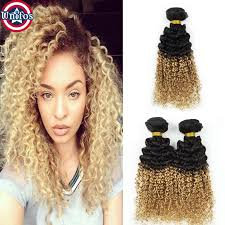 curly extensions cheap ombre curly human hair extensions 3 bundles