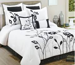 Black And White Comforter Full Black And White Comforter Tjihome